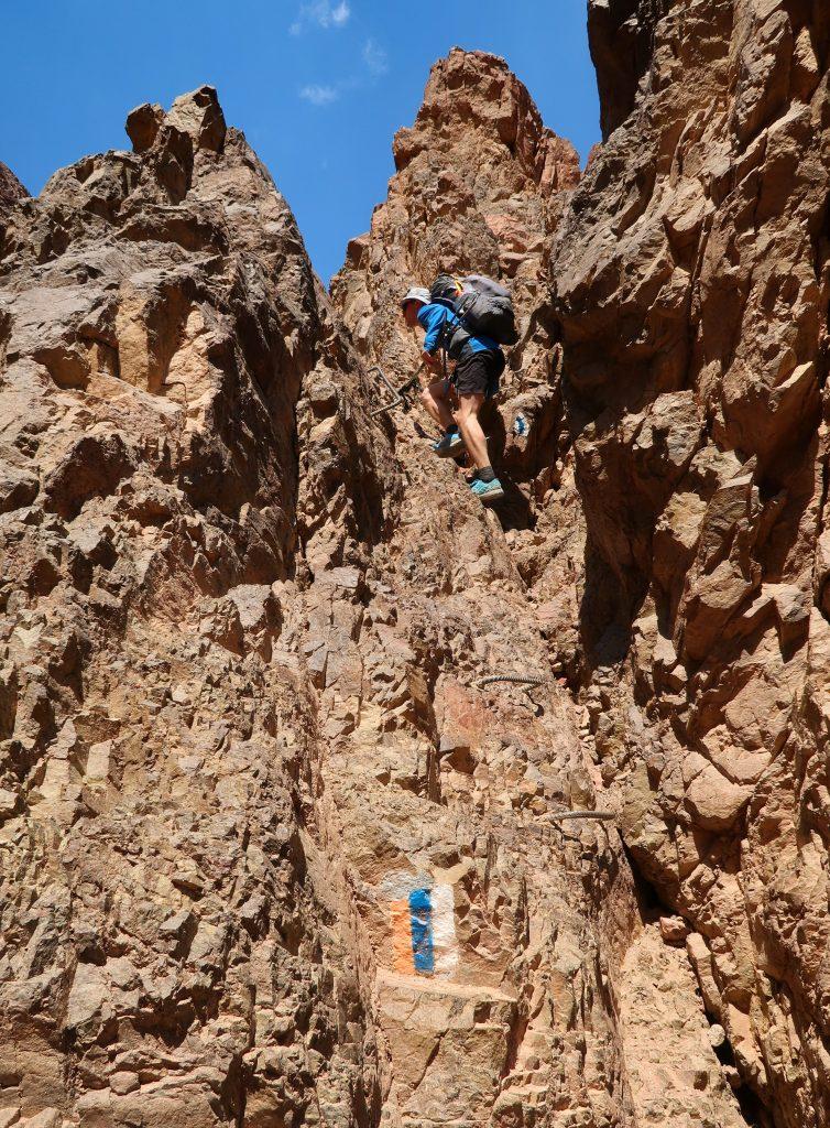 Technická pasáž na Israel National Trail