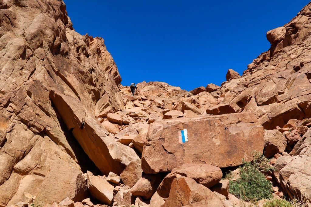 Výstup na vrchol Timna