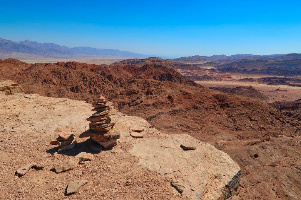 Rozhled z vrcholu Timna