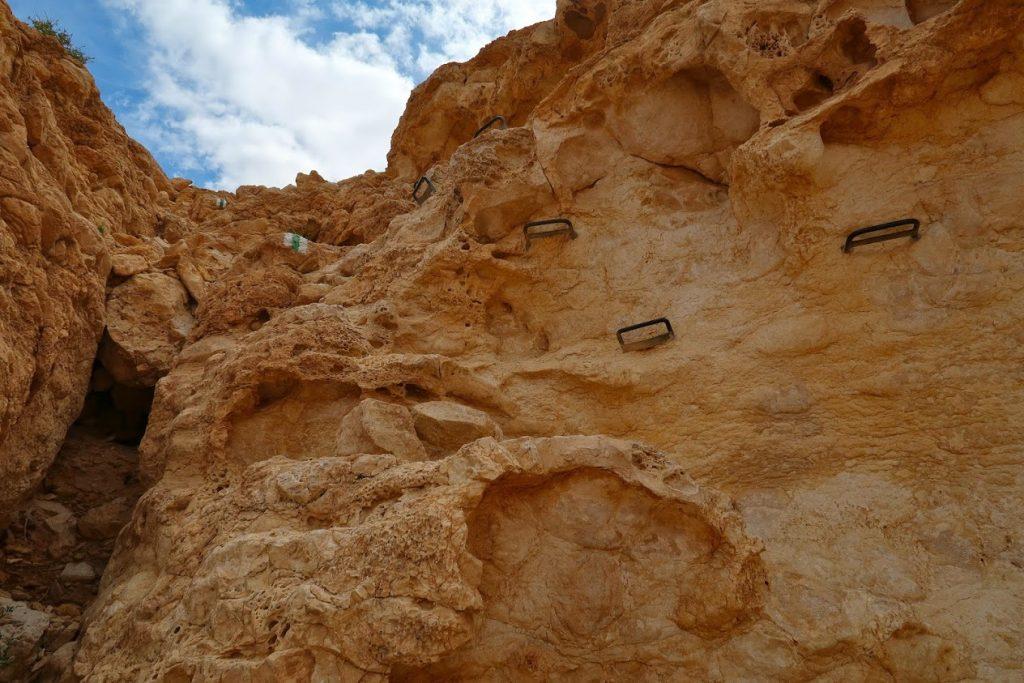 Sestup do kaňonu Gav Hava