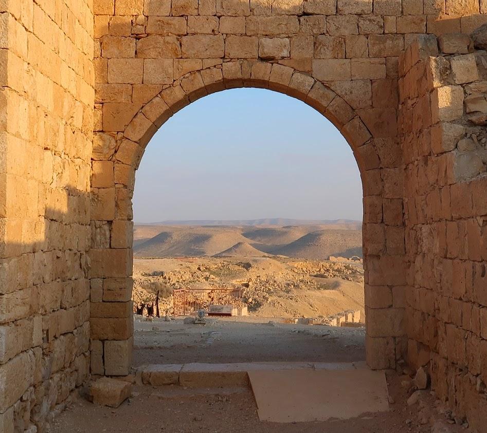 UNESCO památka Avdat