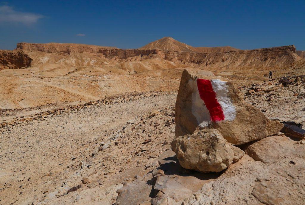 Israel National Trail u hory Hod Akev