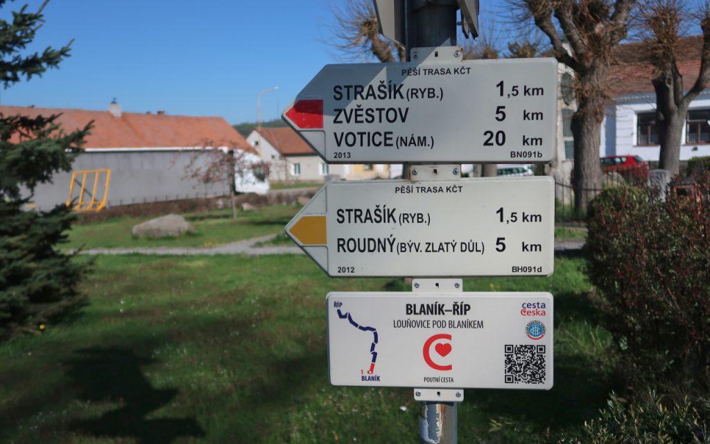 Poutní cesta Blaník - Říp začátek
