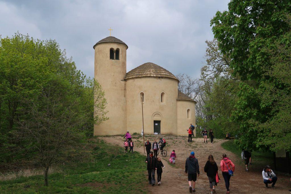 Poutní cesta Blaník Říp rotunda sv. Jiří