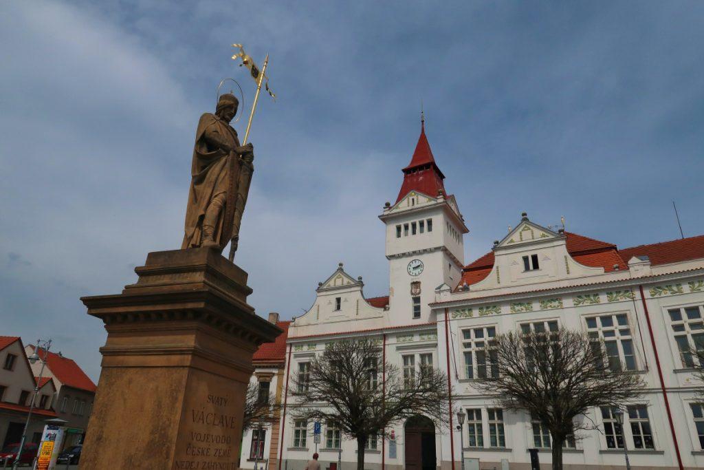 Potní cesta Blaník Říp Stará Boleslav radnice