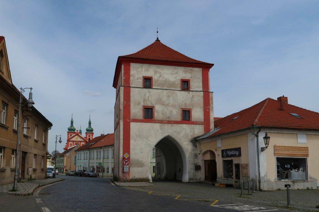 Potní cesta Blaník Říp Stará Boleslav městská brána