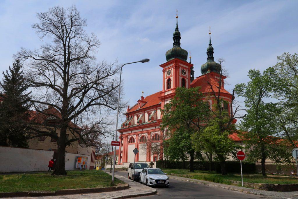 Potní cesta Blaník Říp Stará Boleslav kostel Nanebevzetí Panny Marie