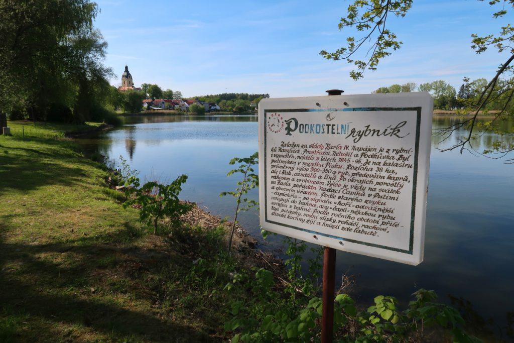 Podkostelní rybník - Putim