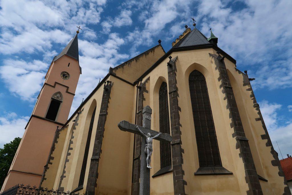 Kostel NAnebevzetí Panny Marie Bavorov