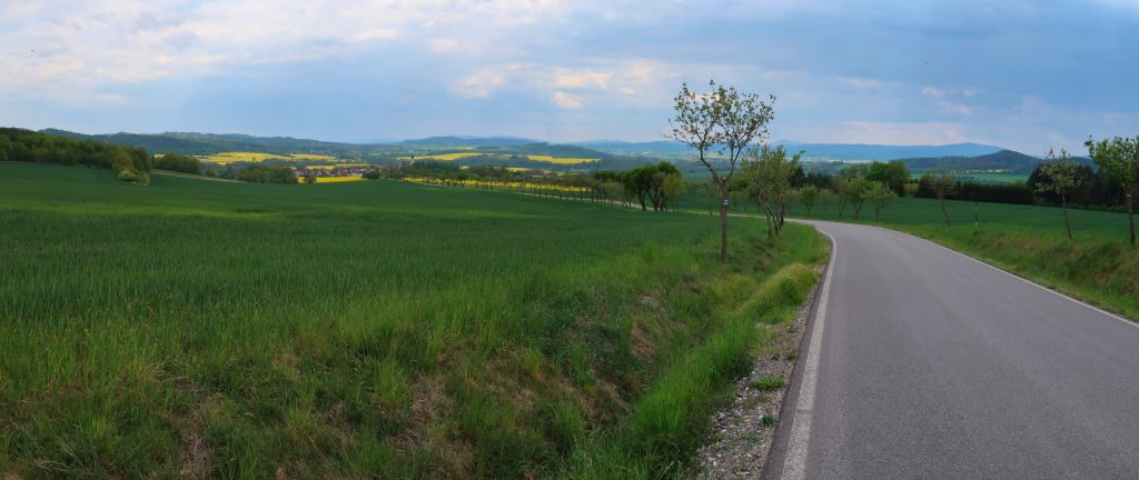 Pohled na Bavorov Prácheňsko