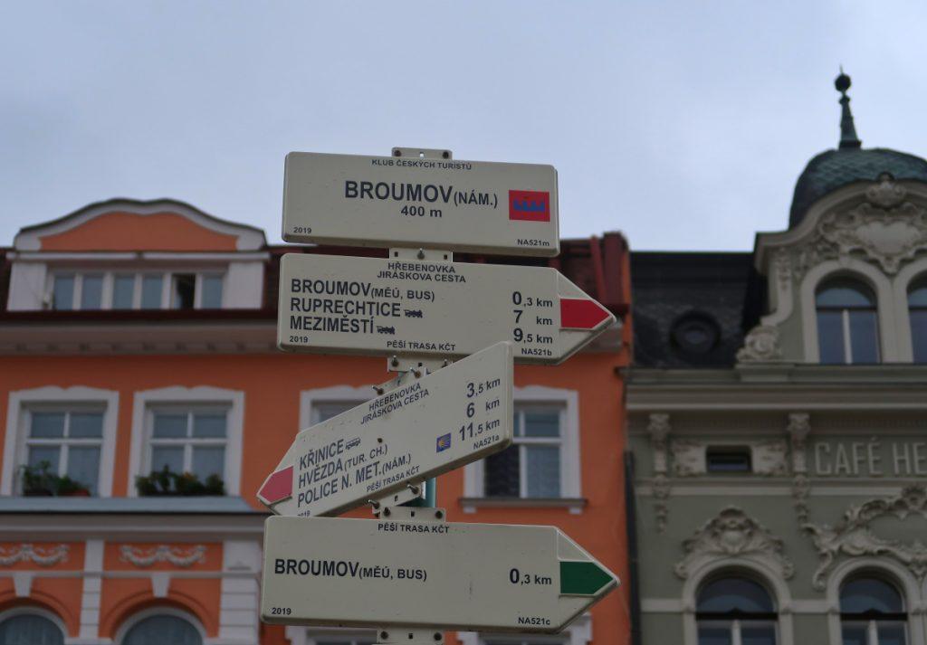 Jiráskova cesta Broumov