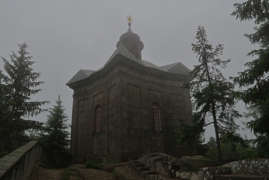 Jiráskova cesta Kaple Panny Marie Sněžné