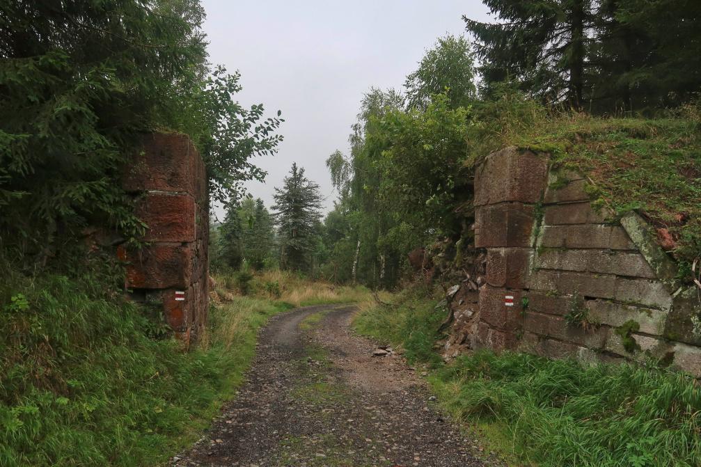 Bývalá železnice Křimov Reitzenhain
