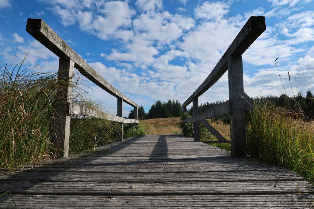 Fláje most Krušné hory