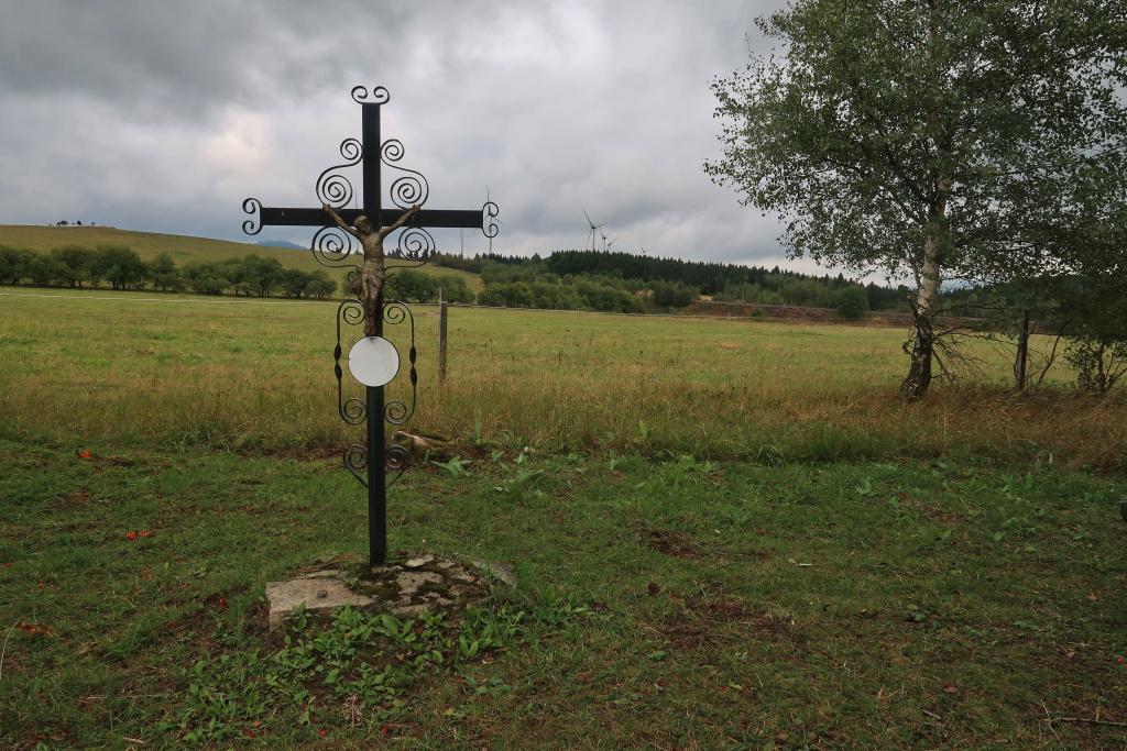 Měděnec kříž Krušné hory