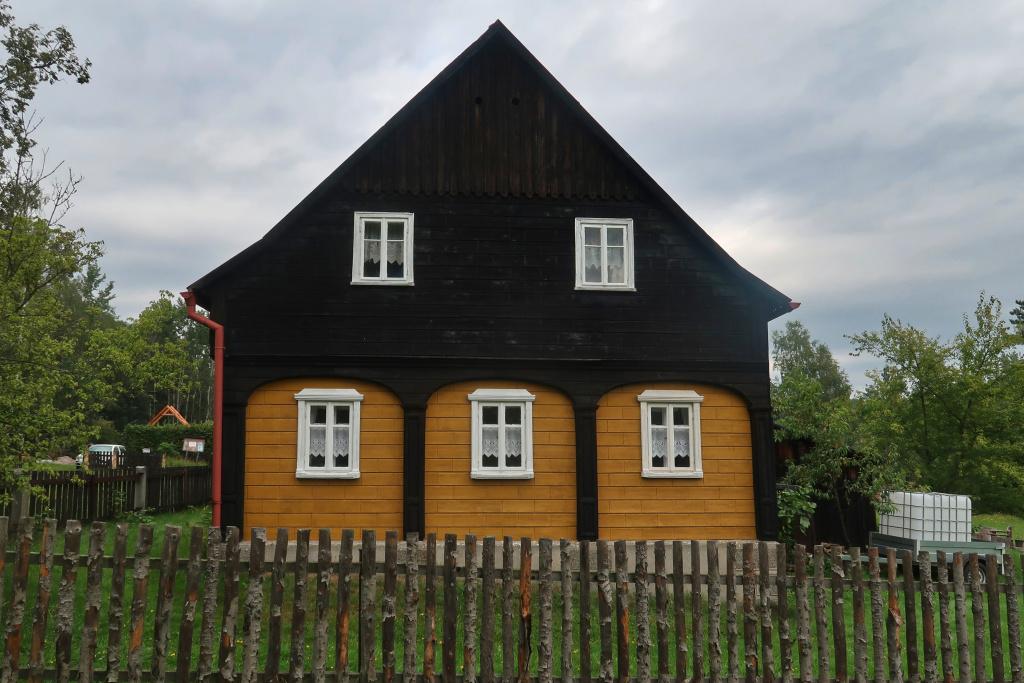 Kamenická stráň dům