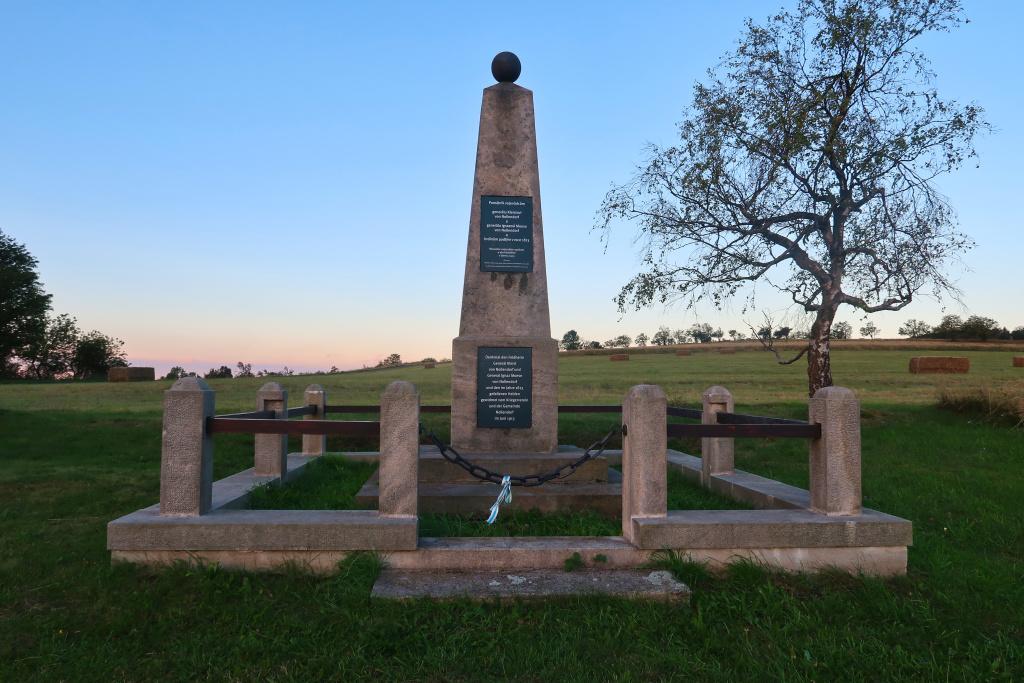 Nakléřov pomník generála Kleista