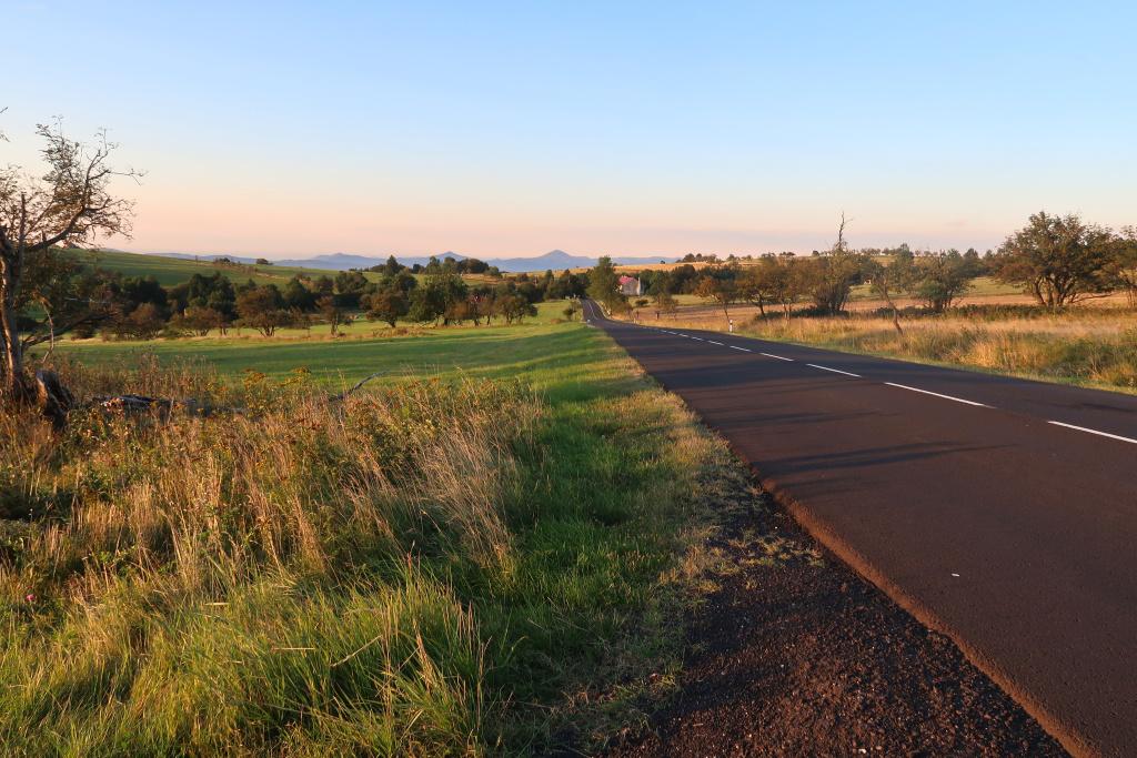 Nakléřovský průsmyk silnice
