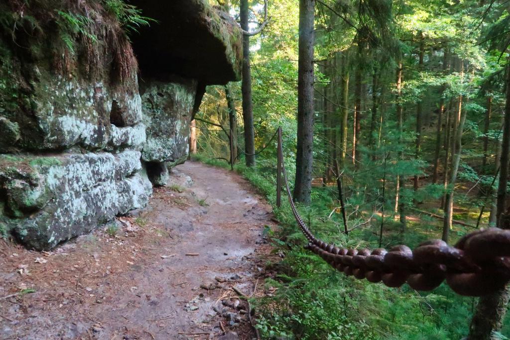 Pavlínino údolí České Švýcarsko