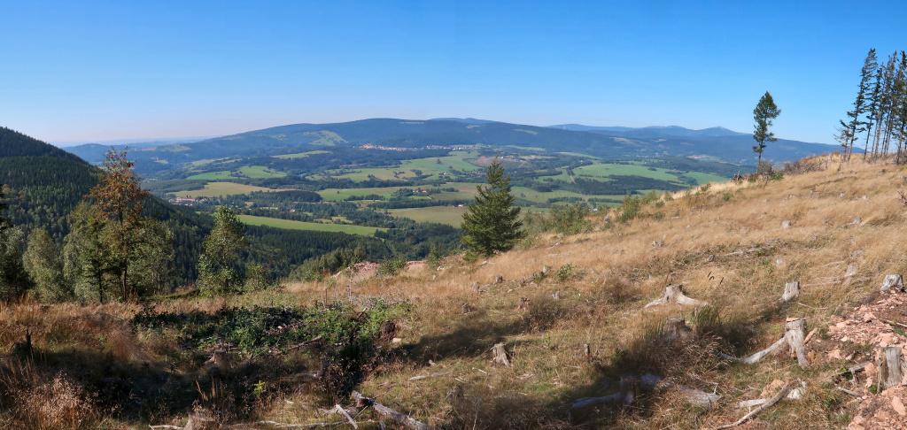 Vraní hory výhledy