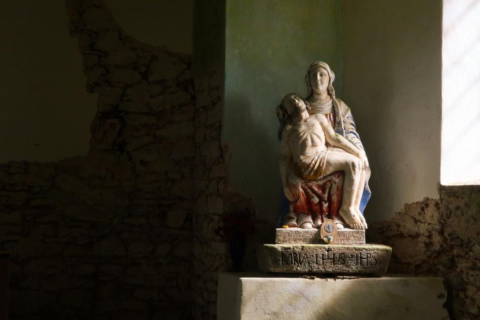 Kunštátská kaple socha