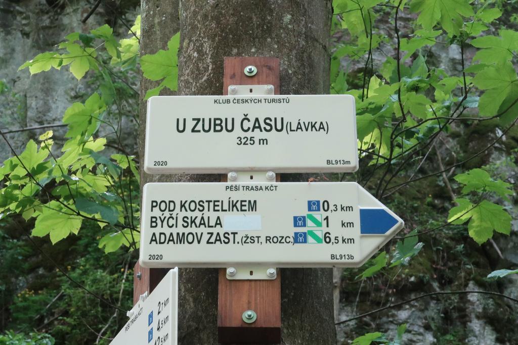 Cyrilometodějská stezka značení