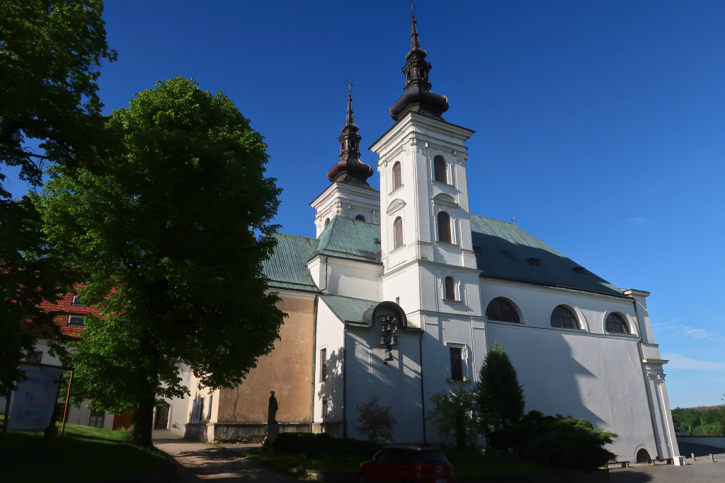 kostel Vranov
