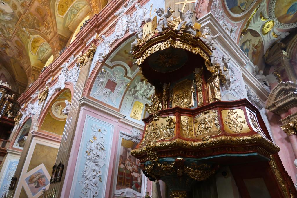 Velehrad kostel Nanebevzetí Panny Marie